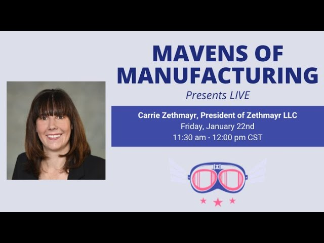 Competitiveness in the Manufacturing Sector with Carrie Zethmayr (E006)