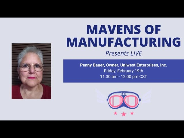 How the Skills Gap is Affecting Manufacturing with Penny Bauer (E010)